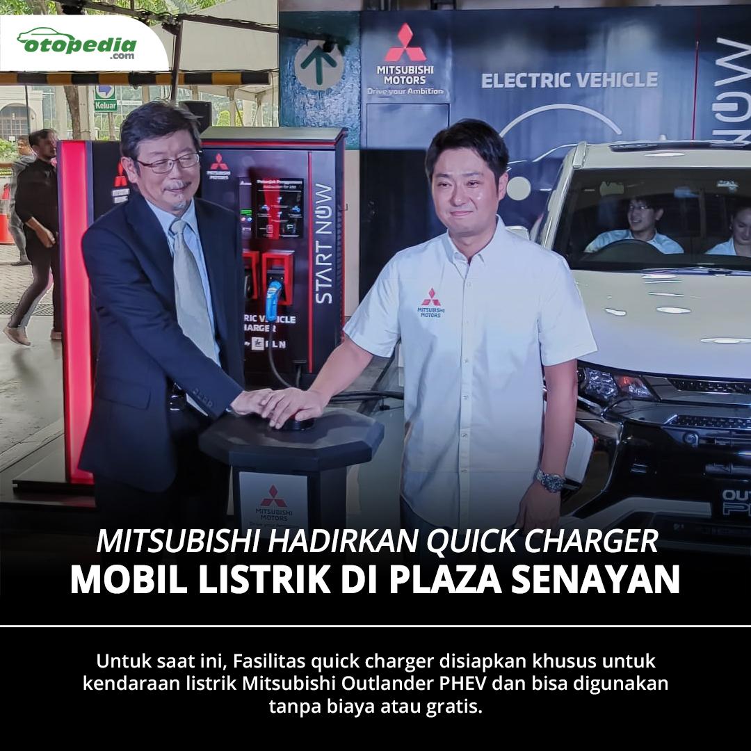 Mitsubishi hadirkan fasilitas pengisian daya cepat (quick charger) untuk mobil listrik di Plaza Senayan, Jakarta.  Ingin tahu lokasi lainnya dari fasilitas quick charger ini ? Cari tahu jawabannya di   #MitsubishiIndonesia #Mitsubishi