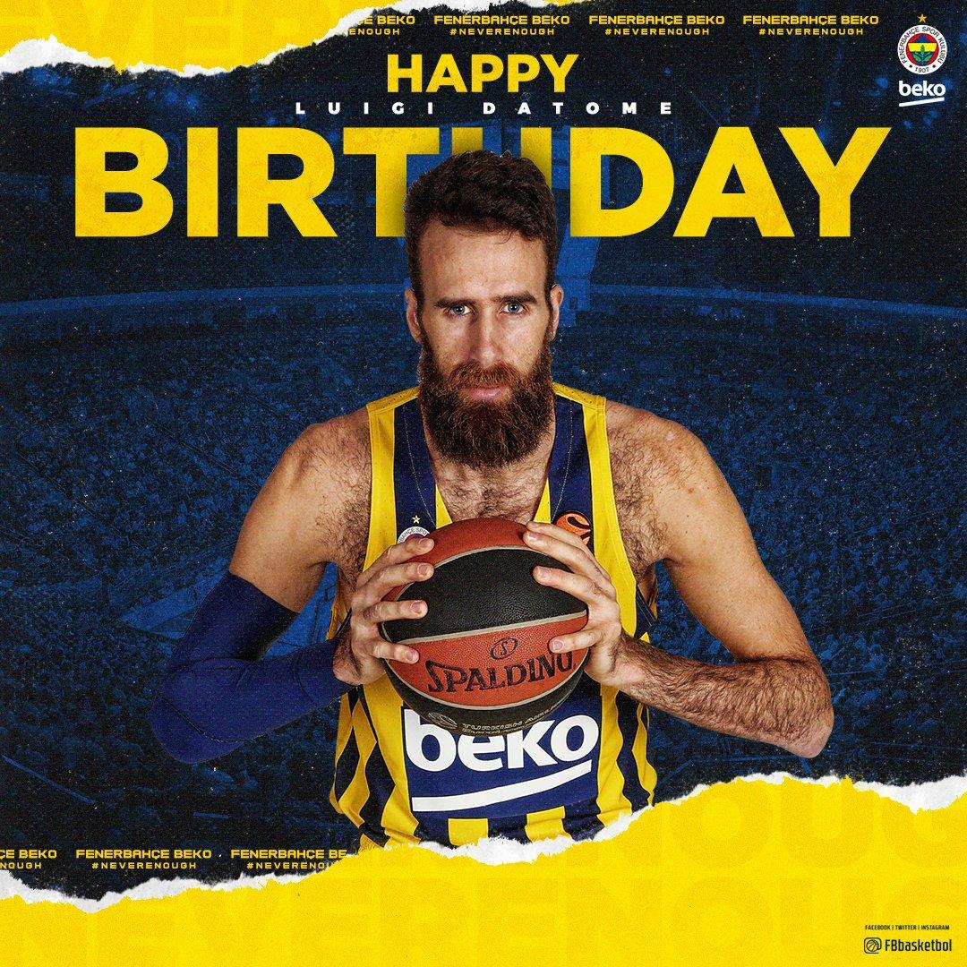 👏 Bugün oyuncumuz @GigiDatome'nin doğum günü! Happy birthday Gigi! 🎂