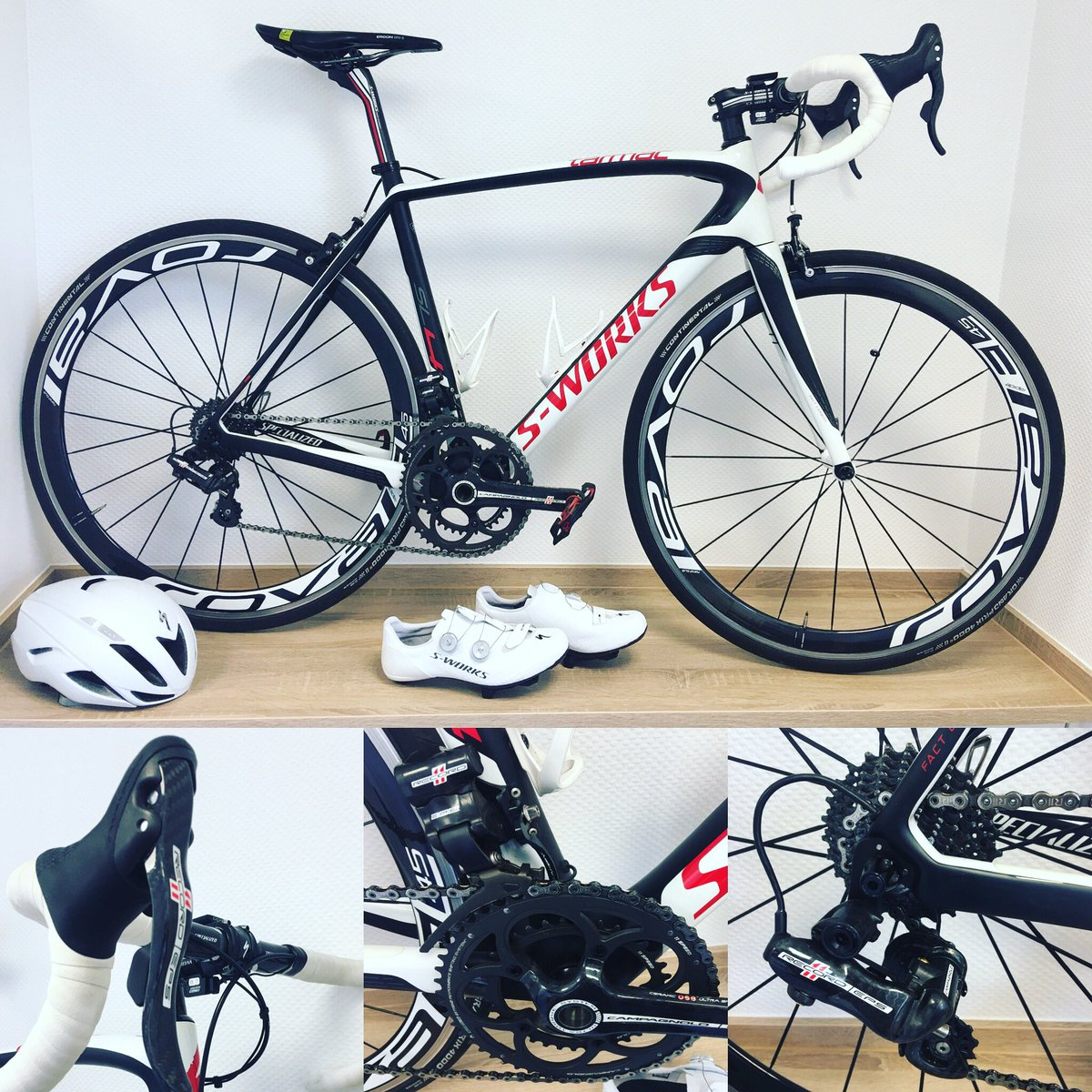 Winter sleep for my S-Works! Winter season means cyclocross time! Who is an all season cyclist like me? #specialized #sworks #sworkstarmac #specializedtarmac #tarmac #campagnolo #record #roval #iamspecialized #specializedbikes #roadbike #ergon @iamspecialized @campagnolosrlpic.twitter.com/eIZMaa9MXJ