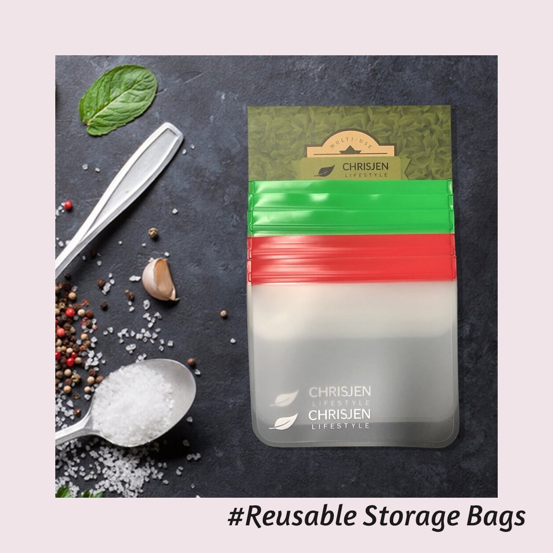 Chrisjenlifestyle Reusable Storage bag is one of the best alternatives to airtight #containers and boxes. . #kitchen #kitchenhacks #HomeDecor #chrisjenlifestyle #Heartless #AxeEm #hacks #lifeshacks pic.twitter.com/7Y3JE0RSWE