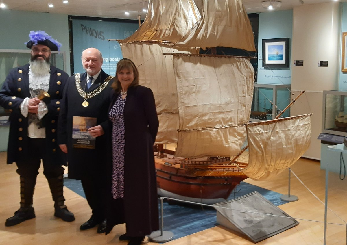 Plymouth Lord Mayor On Twitter The Mayflower Museum Is Housing A Wonderful Mayflower 400 Art Exhibition Celebrating The Sailing Of The Mayflower In 1620 If You Have The Opportunity Pay Them A