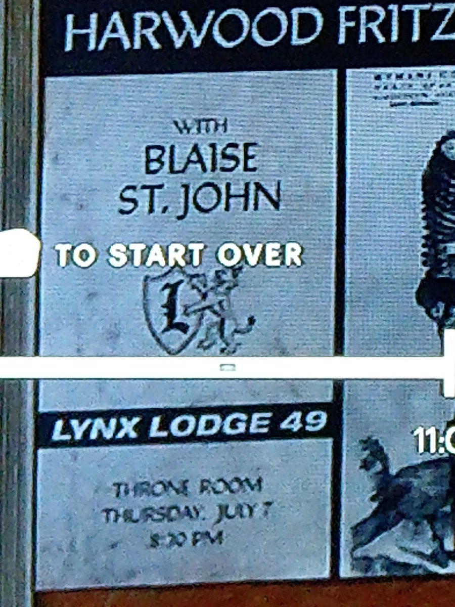 So a few weeks ago there was discussion of when the show takes place, I'm sure it's been lost in our attempts to #SaveLodge49 but I think I found the answer, 2016.  From S1 E5 when Blaise gives his lecture.