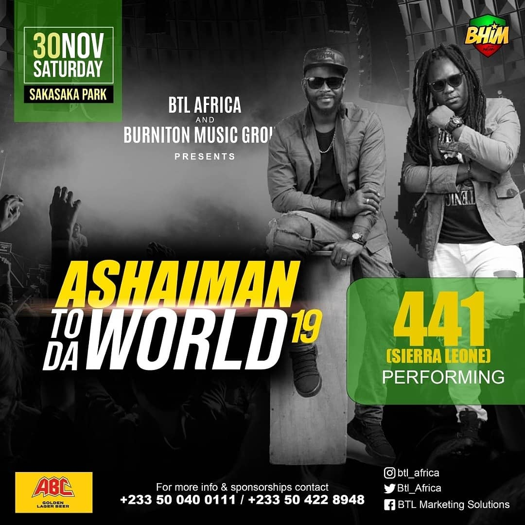 Ghana are you ready? @441musik will be in the building this Saturday 11/30 performing LIVE. #lifehappens #trusttheprocess #musicislife #genxmusik #441musik https://t.co/B8u9ErlXUj https://t.co/PJ8ZZKBAMs