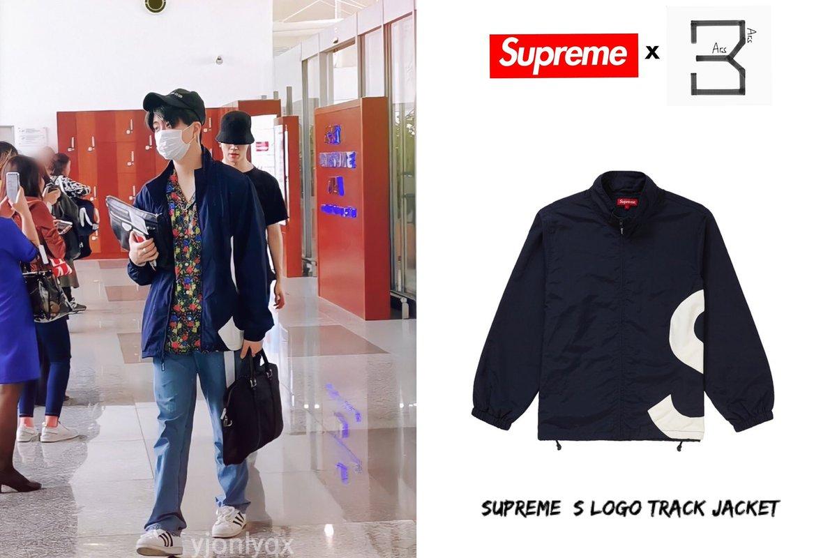BKK [1911127]  #YoungjaexSupreme  SUPREME  S Logo Track Jacket $289.99 Approx THB 8,766 (C) yjonlyqx + #Supremeboy #Youngjae  #ความยองแจ #영재<br>http://pic.twitter.com/vInOe0SNo8