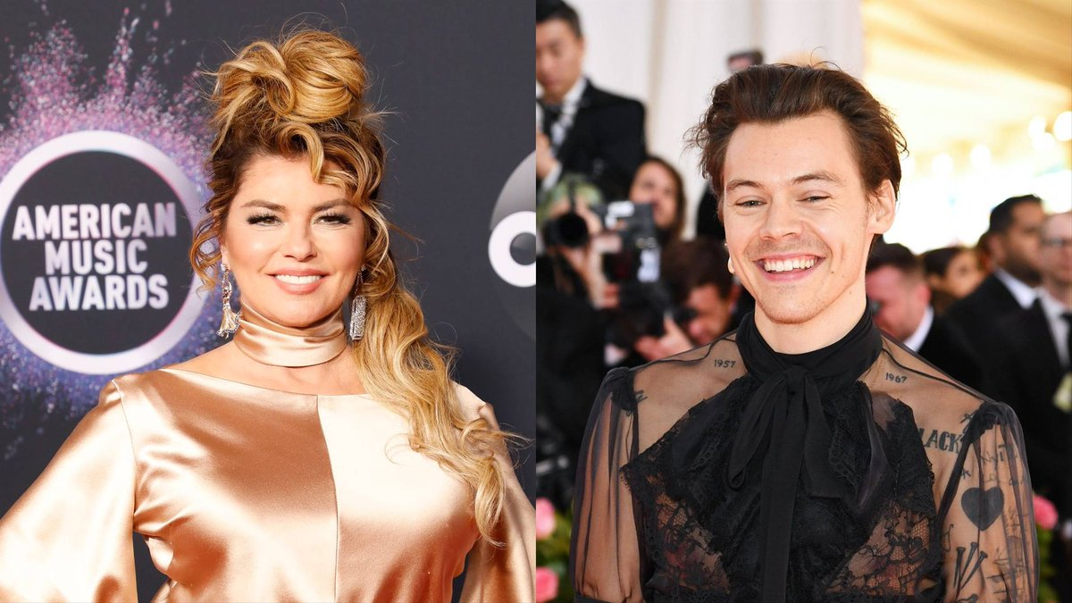 .@Harry_Styles and ShaniaTwain plan to collaborate: on.mtv.com/2DjFODm 😍💫