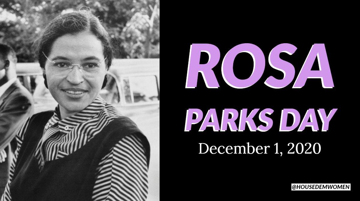 @HouseDemWomen's photo on Rosa Parks
