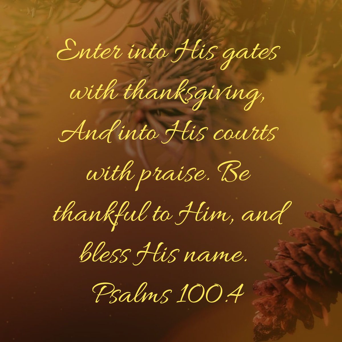 """Joey Williams on Twitter: """"The attitude of #thanksgiving is not a once a year event. We should strive everyday to enter into the presence of the Lord with thankfulness  and #praise. What"""