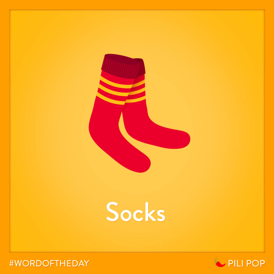 #WordOfTheWeek 🌶  To avoid the cold, don't forget your socks 🧦 https://t.co/RYpx1HJtHv