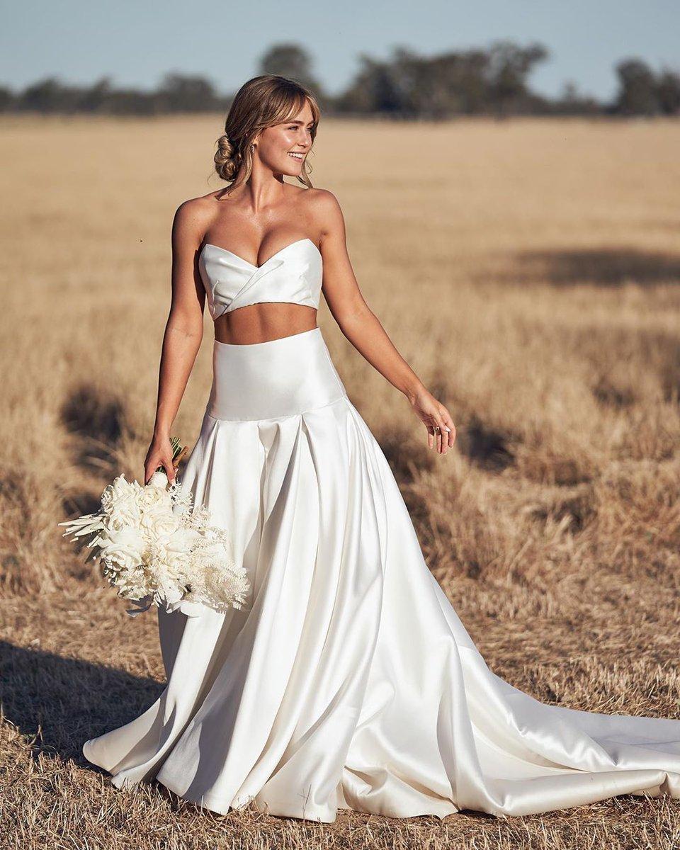 Необычное свадебное платье в картинках