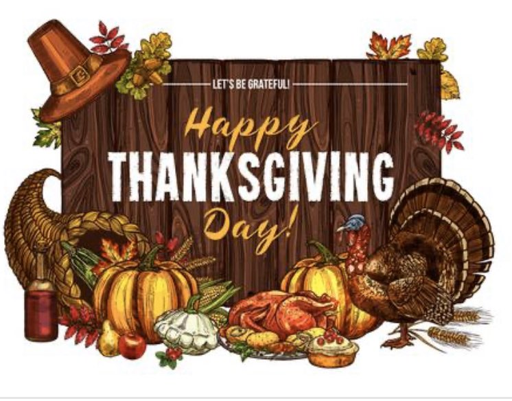 Wishing everyone a safe, healthy and thankful Thanksgiving day!