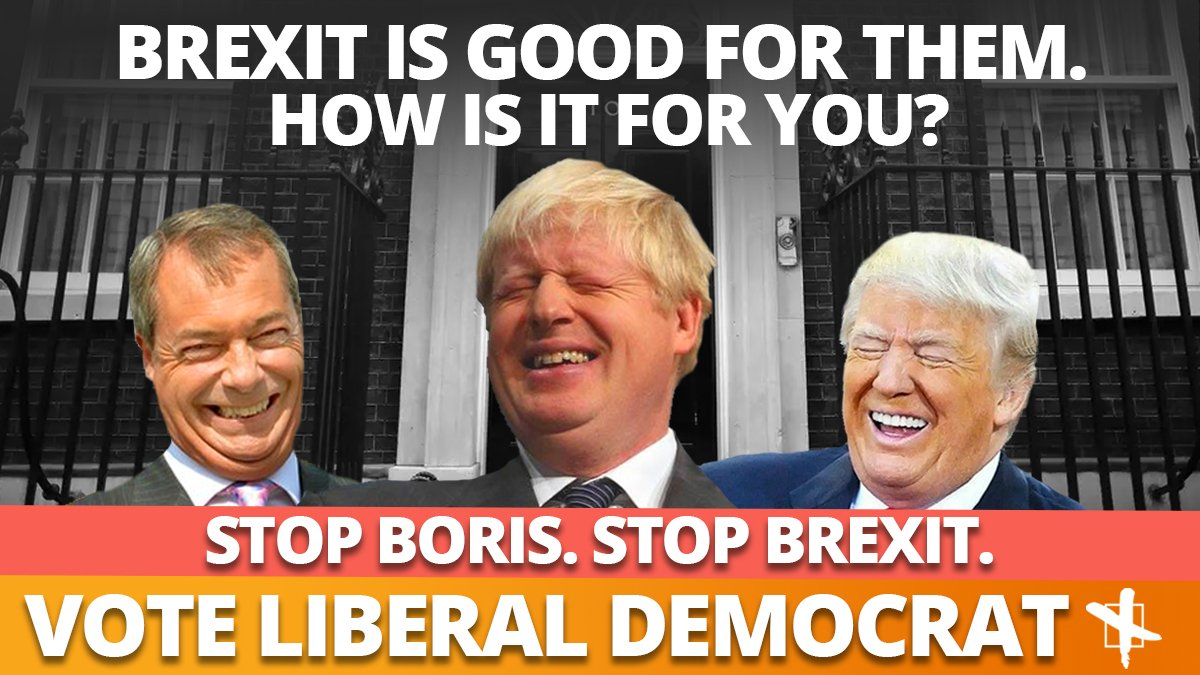 Britain deserves better than Boris Johnsons Brexit deal. Vote Liberal Democrat on 12 December to stop Brexit, invest in our public services, and build a brighter future for Britain 👇 libdems.org.uk/vote-pledge