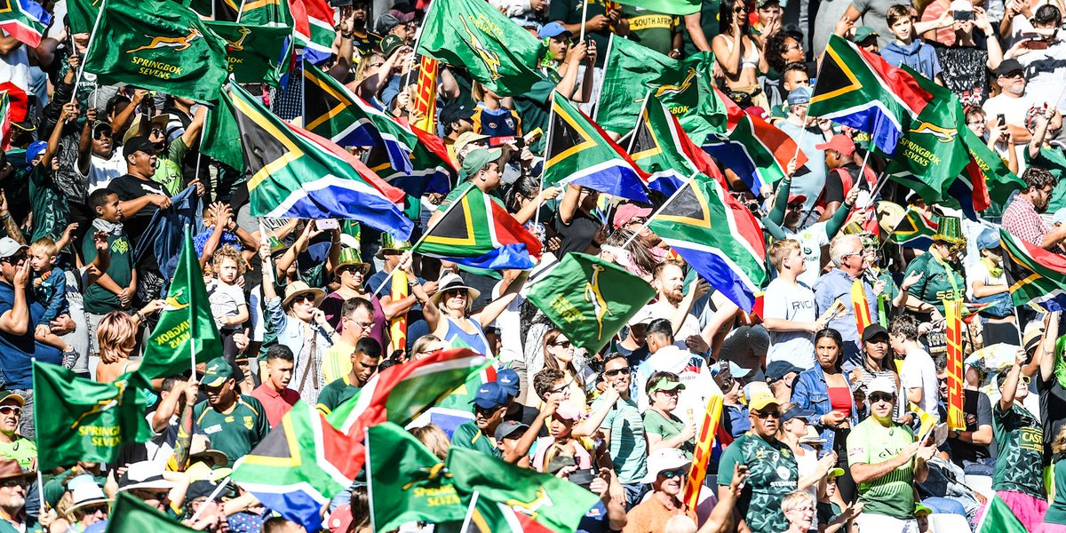 💥 Black Friday special for HSBC CT Sevens 🇿🇦 See the Blitzboks and Imbokodo in action 9⃣9⃣ bucks a ticket for the opening day 🔗 bit.ly/2R24CIh #AnythingCanHappen @CapeTown7s