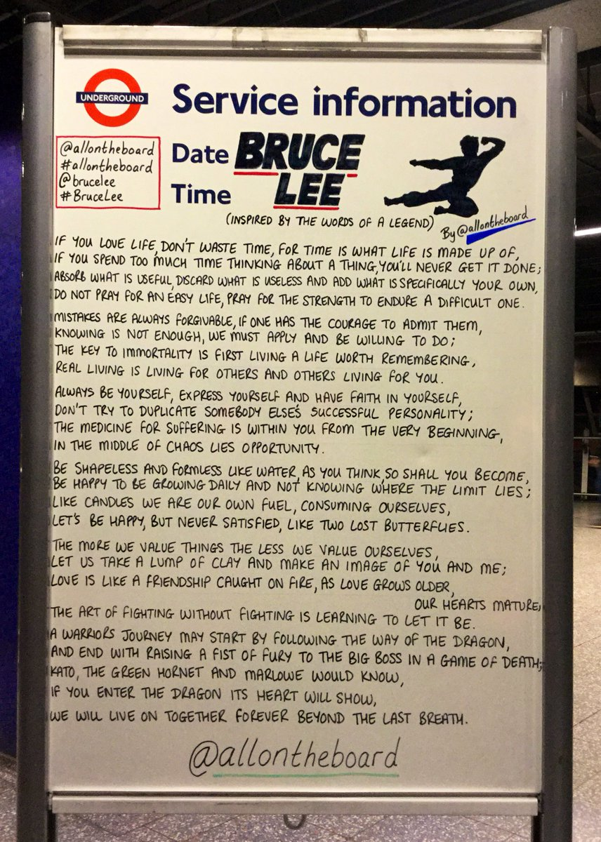 Happy heavenly 79th Birthday to the one and only legendary martial arts master @brucelee. Thanks for being you and for bridging worlds and cultures in a way only you could. We will never forget you. @allontheboard #BruceLee #HappyBirthday #HappyBirthdayBruceLee #allontheboard
