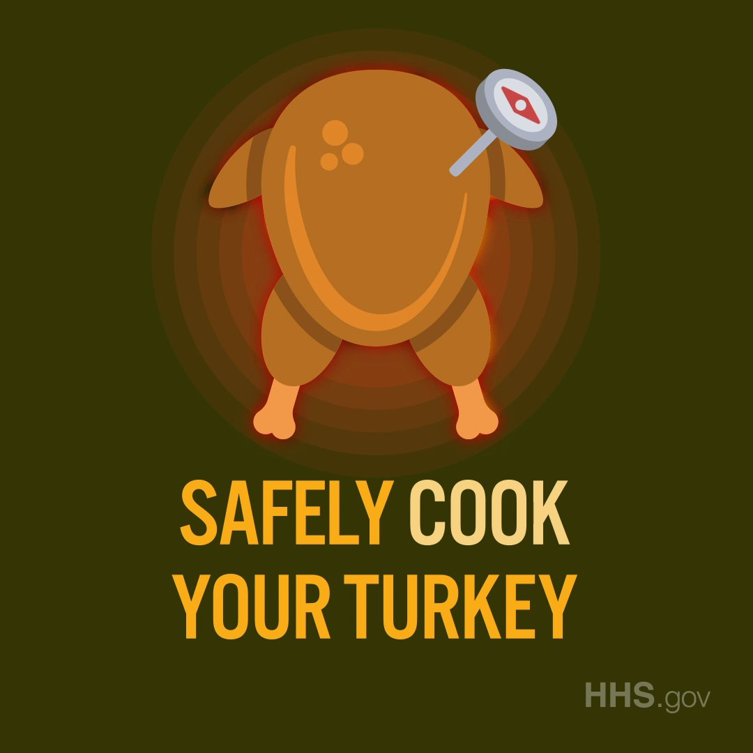 Image for the Tweet beginning: #Thanksgiving Tip: Use a food