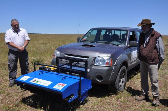 #Provinciales | Presentaron en La Pampa un innovador equipo para cosechar semillas de especies nativas