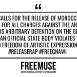 Image for the Tweet beginning: #Releaserap #FreeGnawi #artisticfreedom #rap