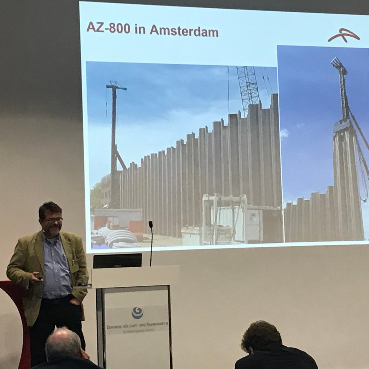 Our colleague Ernst Weber shared best practices on installation of steel sheet piles with low noise and vibration, including our new AZ® 800 range, at the IRO seminar in Wildau on 27.11.2019. To learn more: https://t.co/pcJm273mGW #sheetpiling #steelsheetpiles #installation https://t.co/A5OpK3pUsL