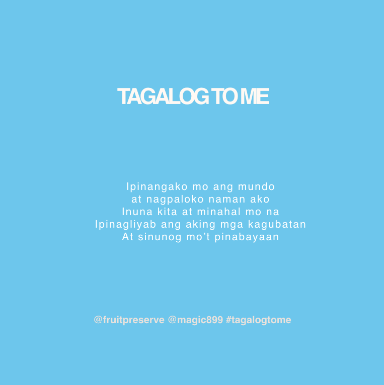 For 2 #RBO899 Movie Tickets: Tell Jam @fruitpreserve & JJ @seandalandan what they translated for #TagalogToMe on the @LastCall899!