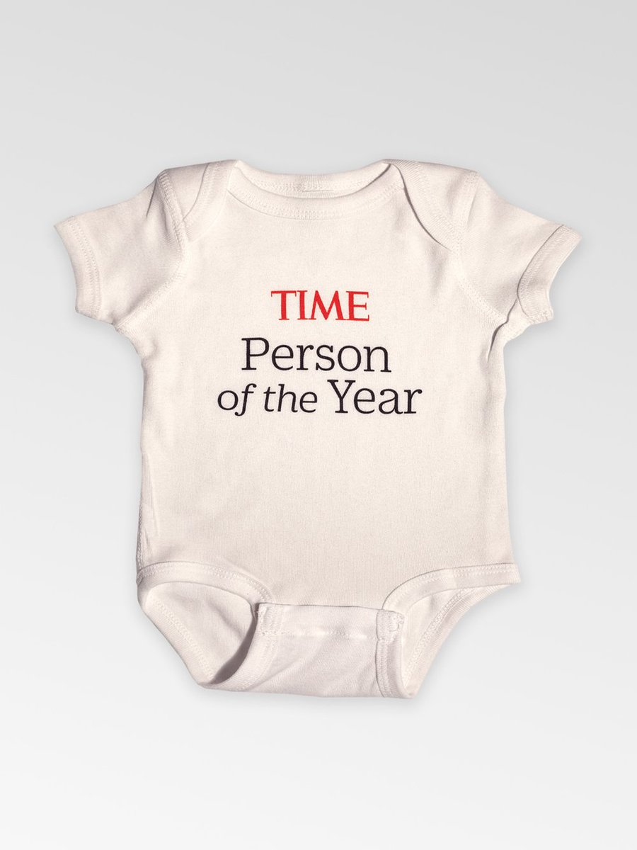 Just in time for the holidays, there's a new @TIME store, and it's selling PERSON OF THE YEAR ONESIES! https://timestore.squarespace.com/