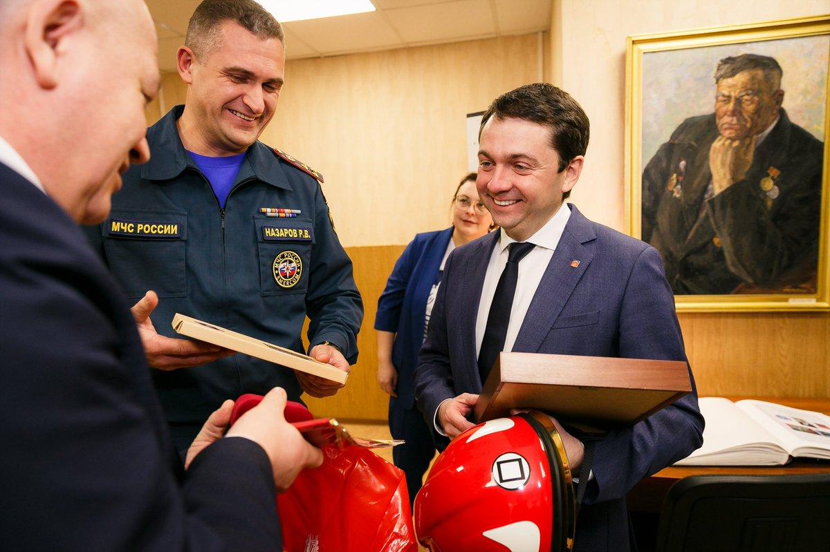 Поздравления пожарной охране губернатора