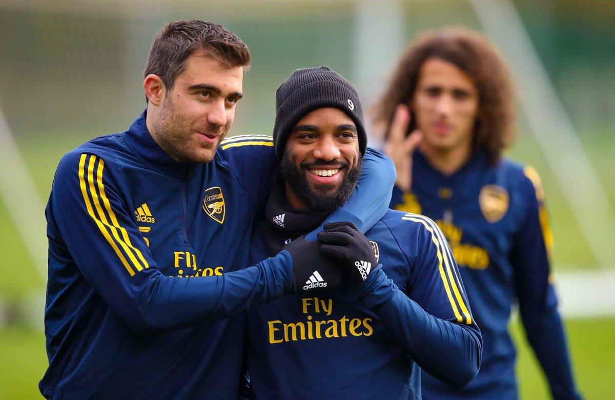 Training done ⚽️ ✅ @Arsenal #S5 #WeAreTheArsenal #UEL