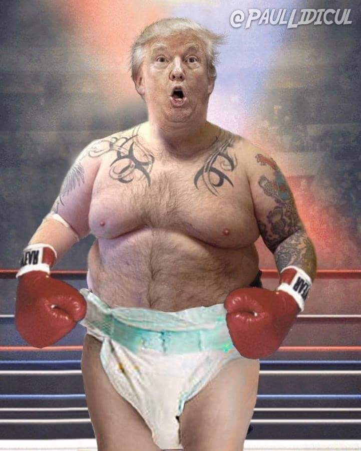 @realDonaldTrump Here is the real image! #Trump #ImpeachTrump #MAGA