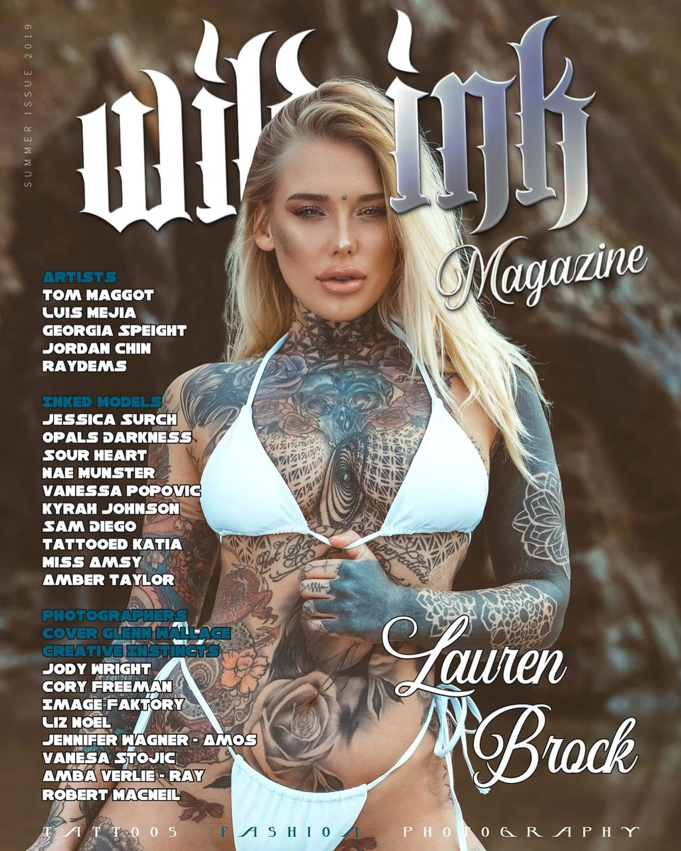 Grab a free digital download for a limited time only, available on our website http://wildinkmagazine.com   Cover @creative_instincts @laurenbrock.3backup  #tattoolove #tattoomagazine #wildinkaustralia #wildink #wildinkmagazine #tattooartist #TATTOO #Australia #inkedmodel #wildinkpic.twitter.com/8uKKBG5rab