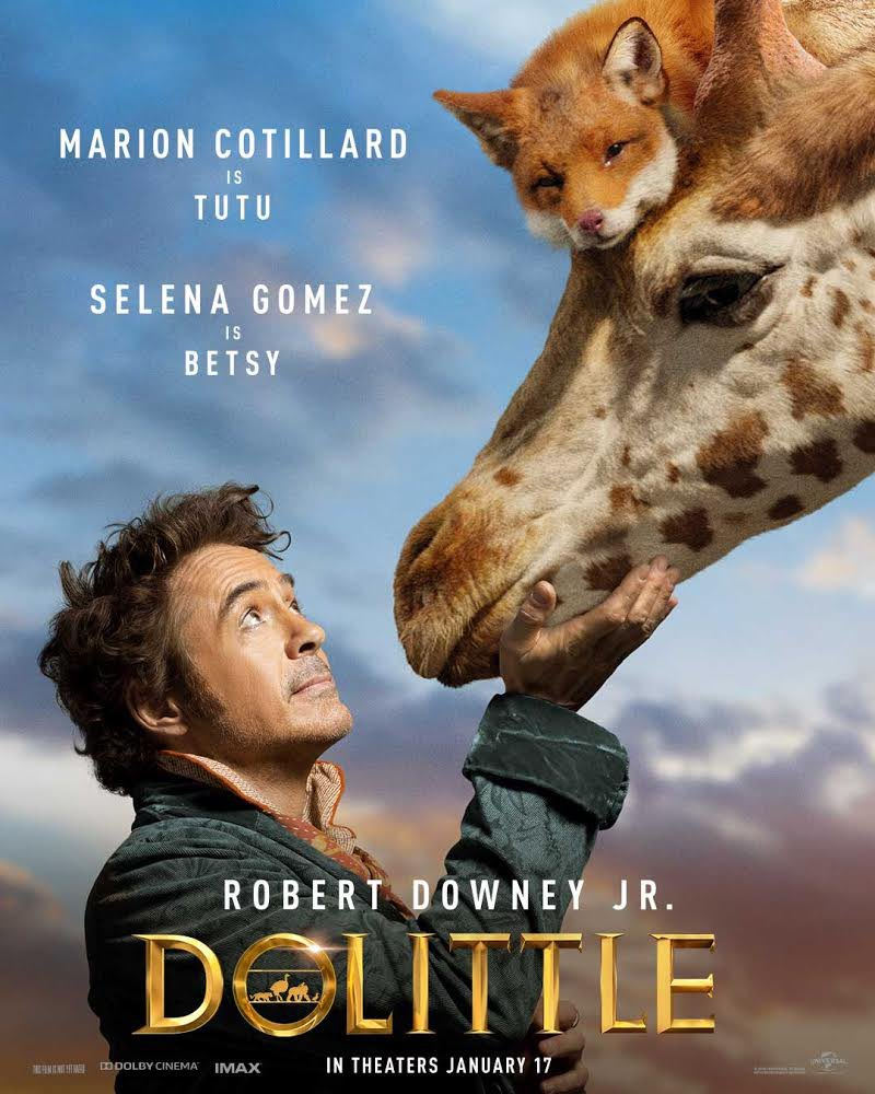 Dolittle Character Poster