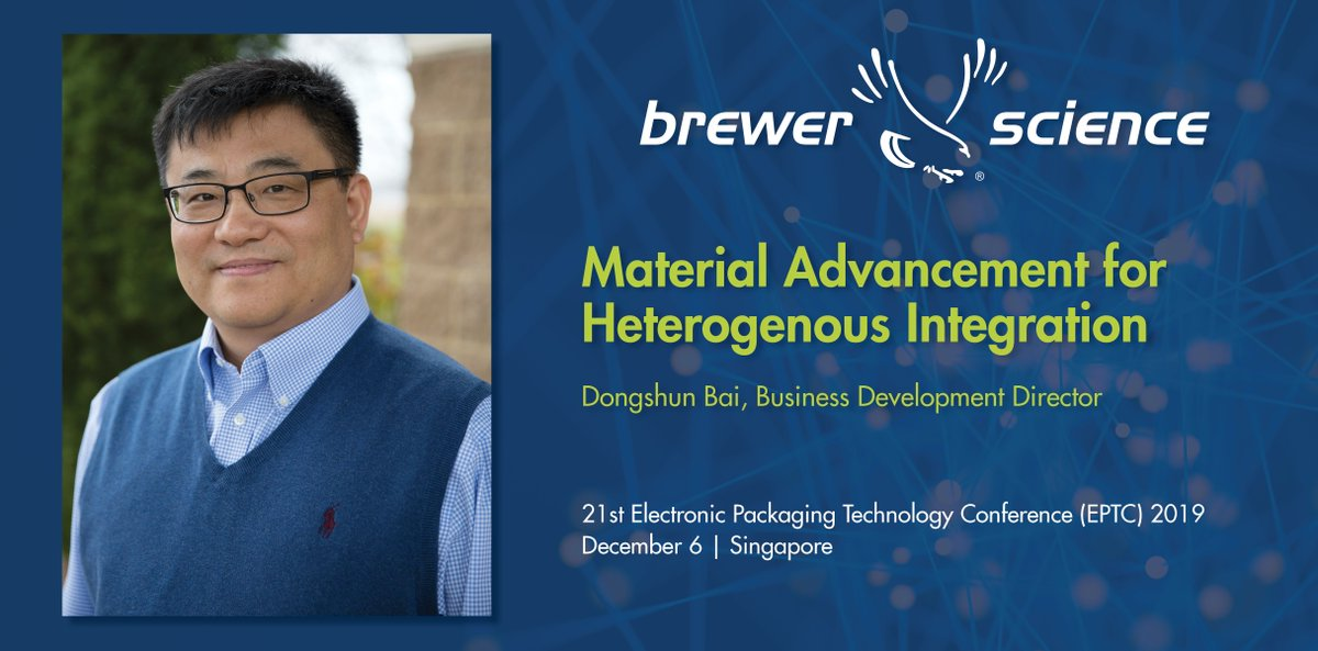 test Twitter Media - Brewer Science will attend & present at the 2019 Electronics Packaging Technology Conference (EPTC) in Singapore. If you want to meet with our experts during the conference, let us know: (https://t.co/gnSl9WphJT)  #HeterogenousIntegration #WaferLevelPackaging https://t.co/srRm1oFGL4