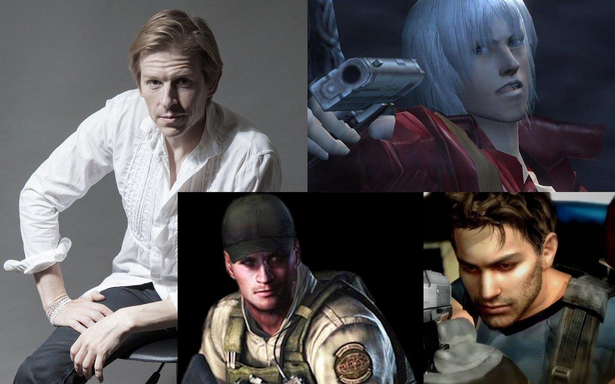 Resident Evil Facts On Twitter Voice Actor Reubenlangdon Often