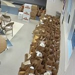 Image for the Tweet beginning: JH/HS FCCLA distributed food baskets