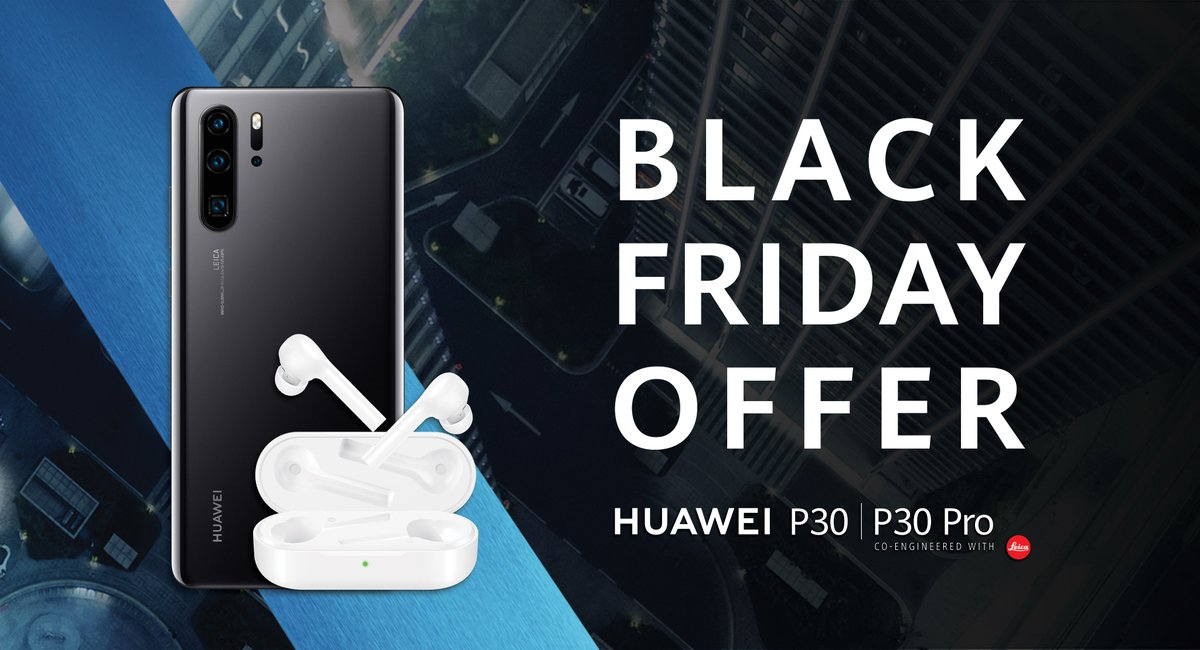 Huawei Mobile Canada On Twitter For A Limited Time Buy The Huawei P30 Or P30 Pro And Get A Free Pair Of Huawei Freebuds Lite Conditions Apply Blackfriday Blackfridaydeals Blackfridayoffer Huaweip30series Freebudslite