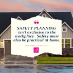 """Take Safety Home.  🏡💗 """"...the number and rate of unintentional deaths at home are rising at alarming paces."""""""