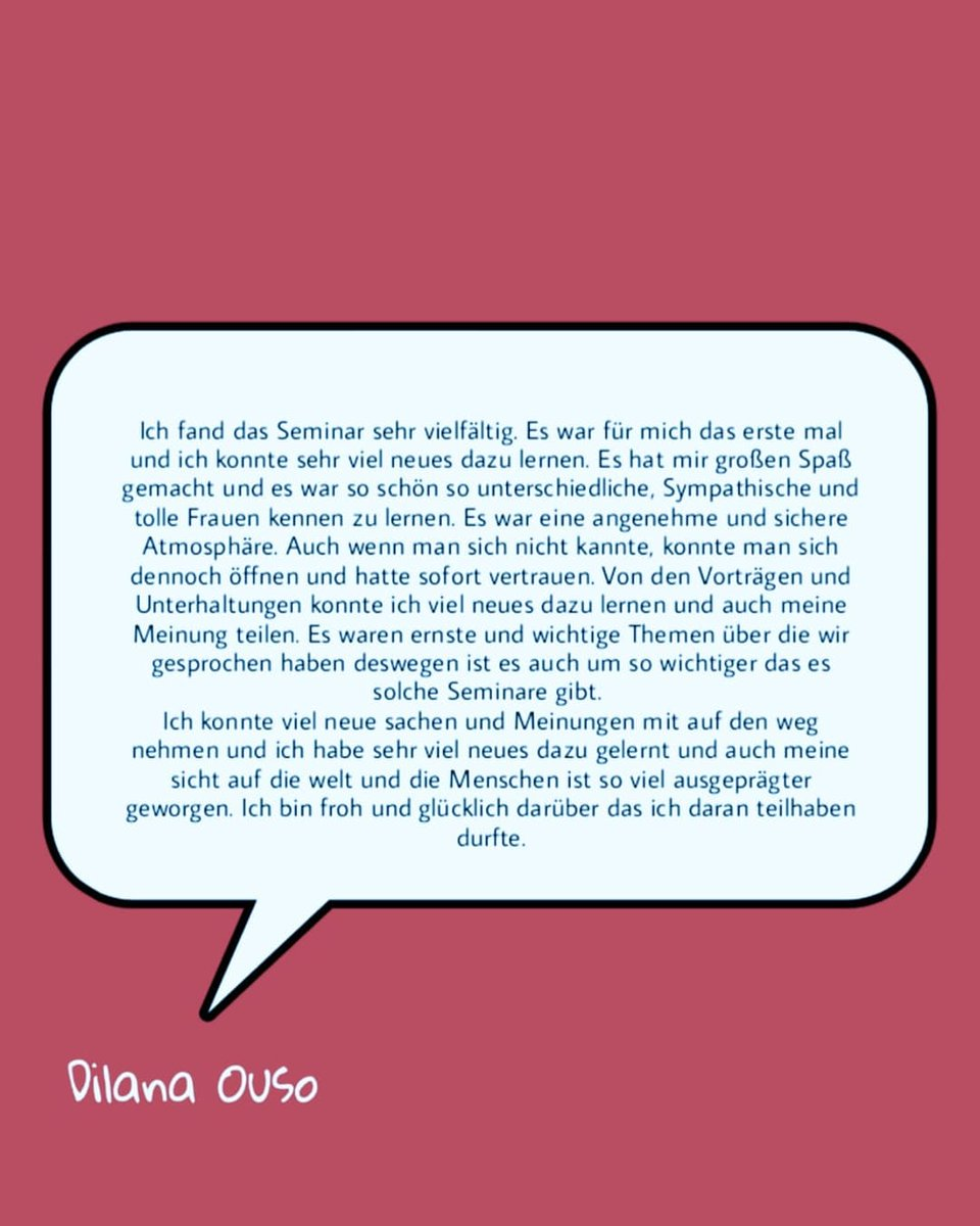 Einige Statements der Teilnehmerinnen zum Frauenempowerment-Seminar am vergangenen Wochenende.  @BDAJ_NRW  #womenempowerment #Frauen  #Kirivpic.twitter.com/kPfeyaq8m5