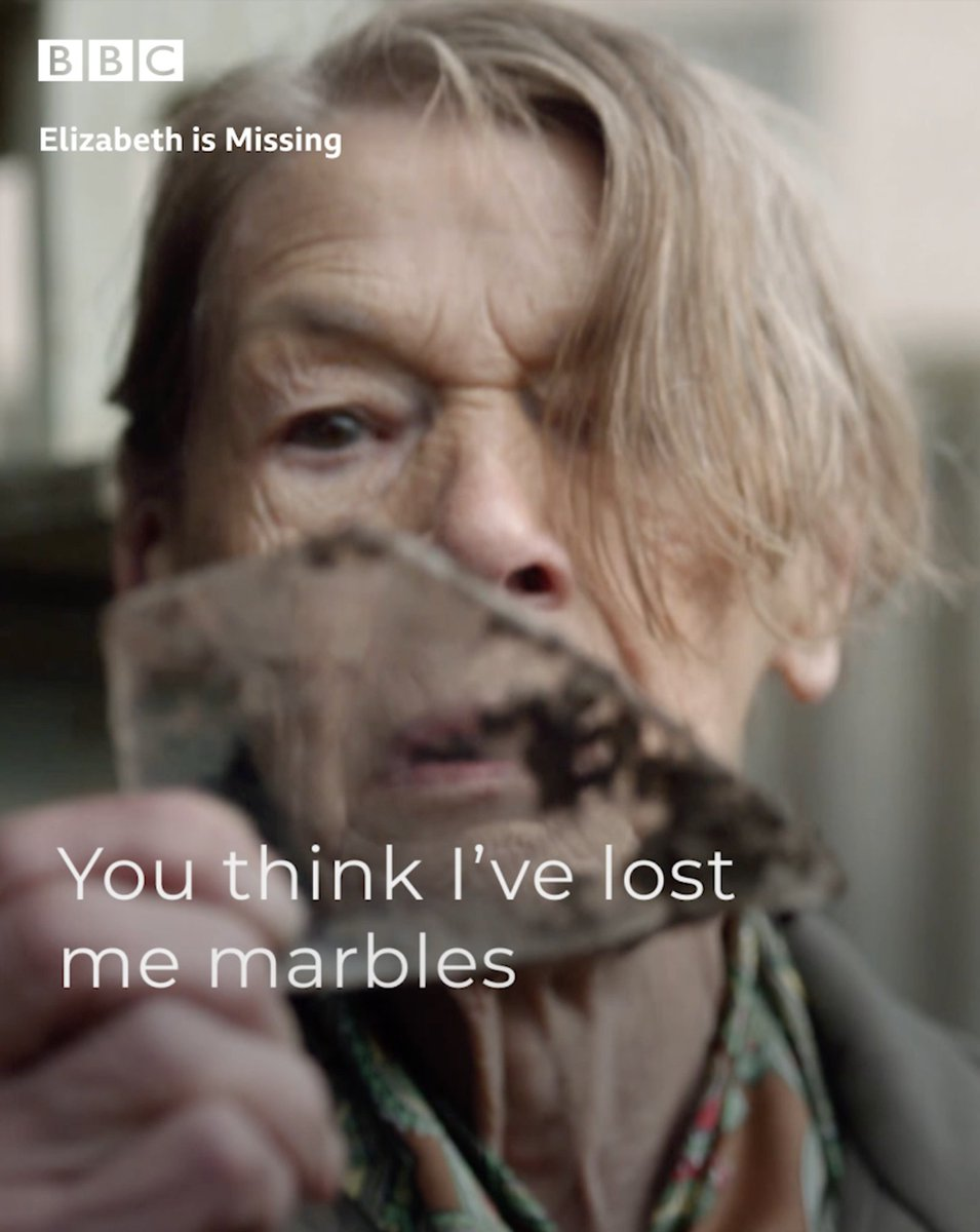 Where is Elizabeth? What happened to Sukey? And why wont anyone believe Maud? Watch #ElizabethIsMissing, adapted from Emma Healeys best-selling novel, tonight at 9pm on @BBCOne & @BBCiPlayer.