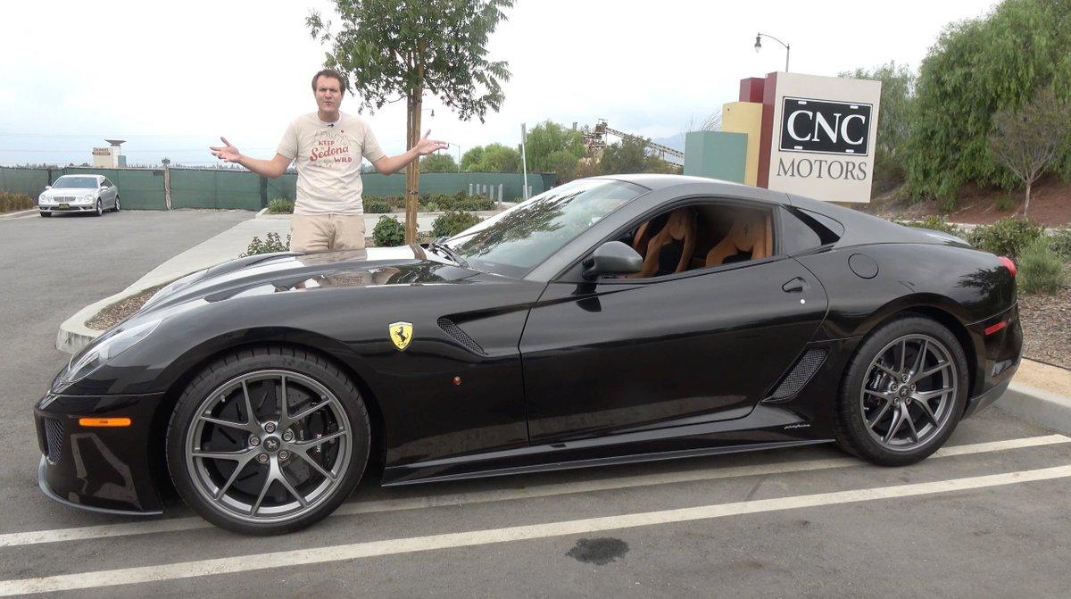 Doug Demuro On Twitter The Ferrari 599 Gto Is An Ultra Rare 550 000 Ferrari Https T Co 1w3jdqz1fo