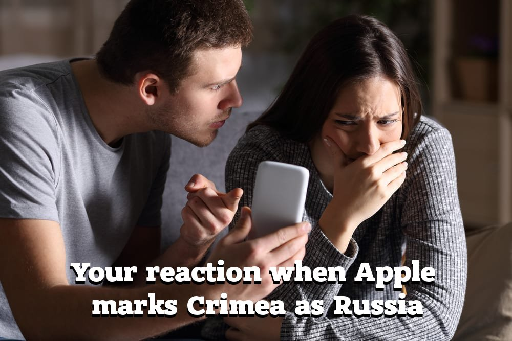 Apple's Crimea Map Switch Opens Up Bigger Issue of 'Being Played' By Putin, Critics Say