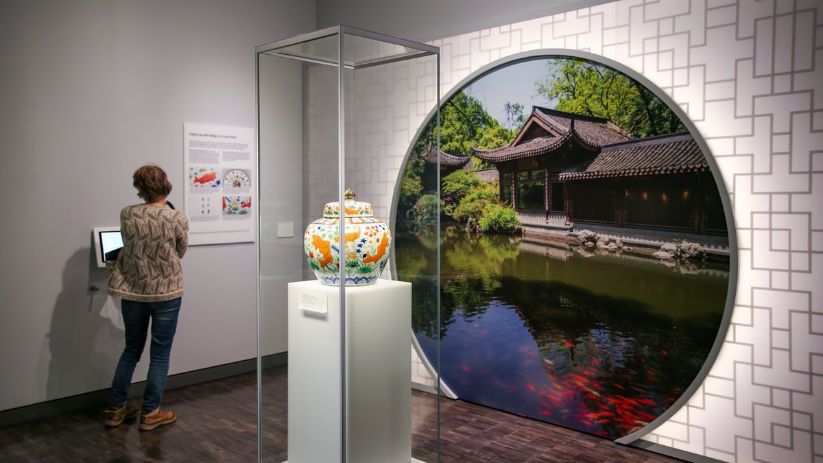 Our newly updated 2nd & 3rd-floor collection galleries are now open! Stop by & discover treasures from the Persian World & West Asia, South & Southeast Asia, the Himalayas, China, Japan & Korea in our remodeled galleries. We're just 2 blocks away from @SFBART @SFBARTable https://t.co/FZLSs6FRMq