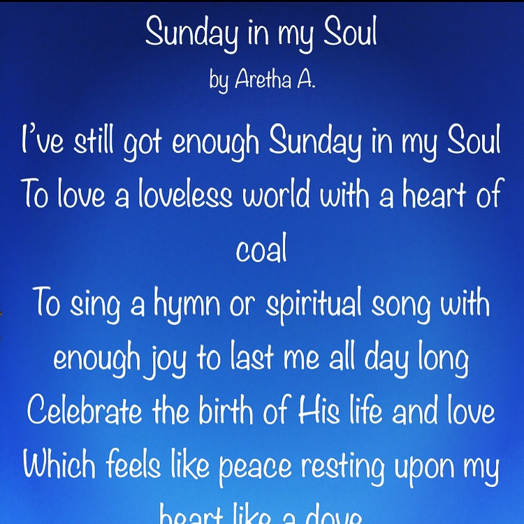 Sunday in my Soul #happy #healthy #spiritmindbody #visionboard #visionboards #poetry #poetrycommunity #blackgirlmagic #ifwordscouldtalk #WednesdayMotivation