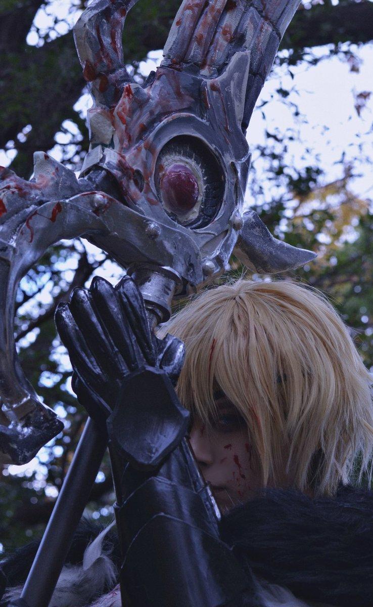 【Cosplay】FIRE EMBLEM 風花雪月/Dimitri(5年後)ディミトリ⁼アレクサンドル⁼ブレーダッド理不尽な死を遂げた彼らにせめて、安らかに眠れる様に写真@sanopanpeter#fireemblemcosplay