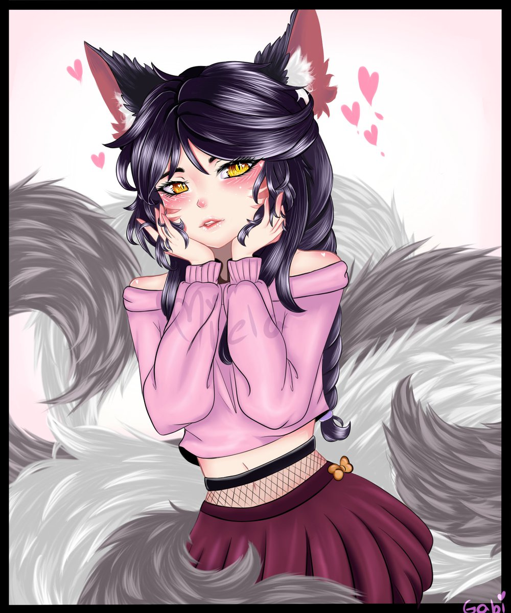 another ahri for you and i hope you enjoy 🥰#Ahri #LeagueOfLegends