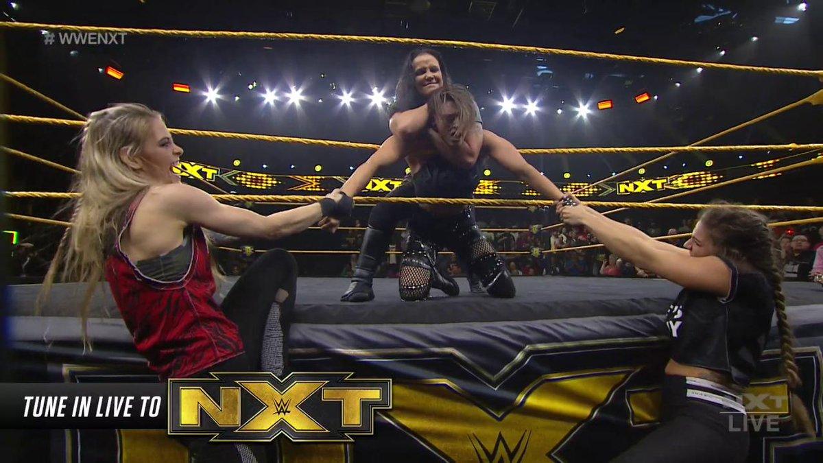 ♠ @QoSBaszler. 👹 @RheaRipley_WWE. December 18.  Mark your calendars, people. This is gonna be good. #WWENXT
