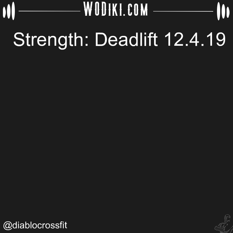 WOD 12.04 by @diablocrossfit  Don't let the fear of losing be greater than the excitement of winning. #crossfitaddict #deadlift