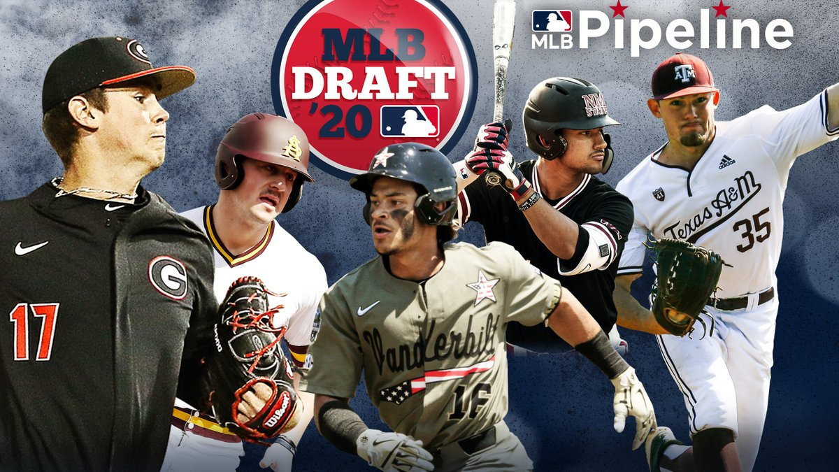 The 2020 #MLBDraft is just over six months away. Here's our brand-new Top 100 Prospects list, which features a bevy of premium college pitchers: atmlb.com/2qlKe9T