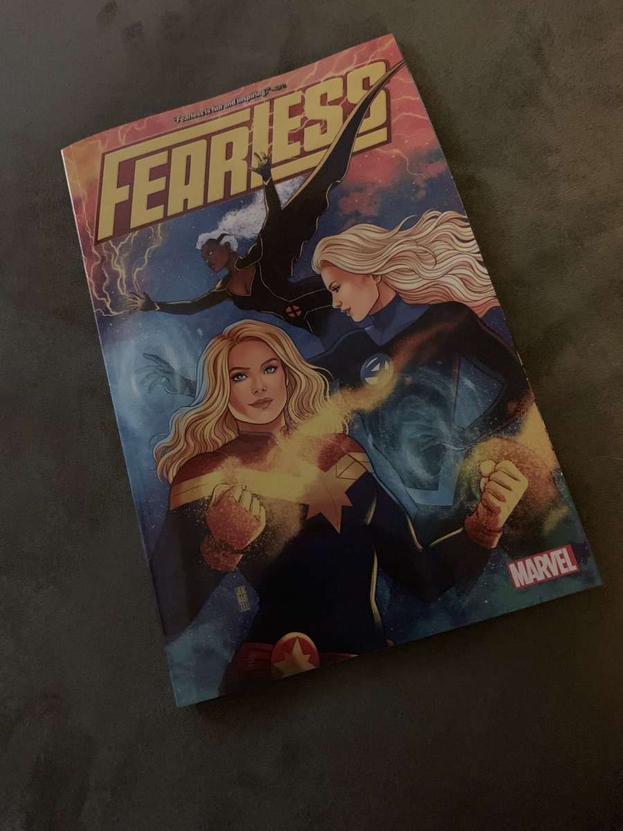 Did I really just buy the trade of Fearless for this @heyjenbartel cover even though I have all the single issues? Absolutely. Worth it? Absolutely.