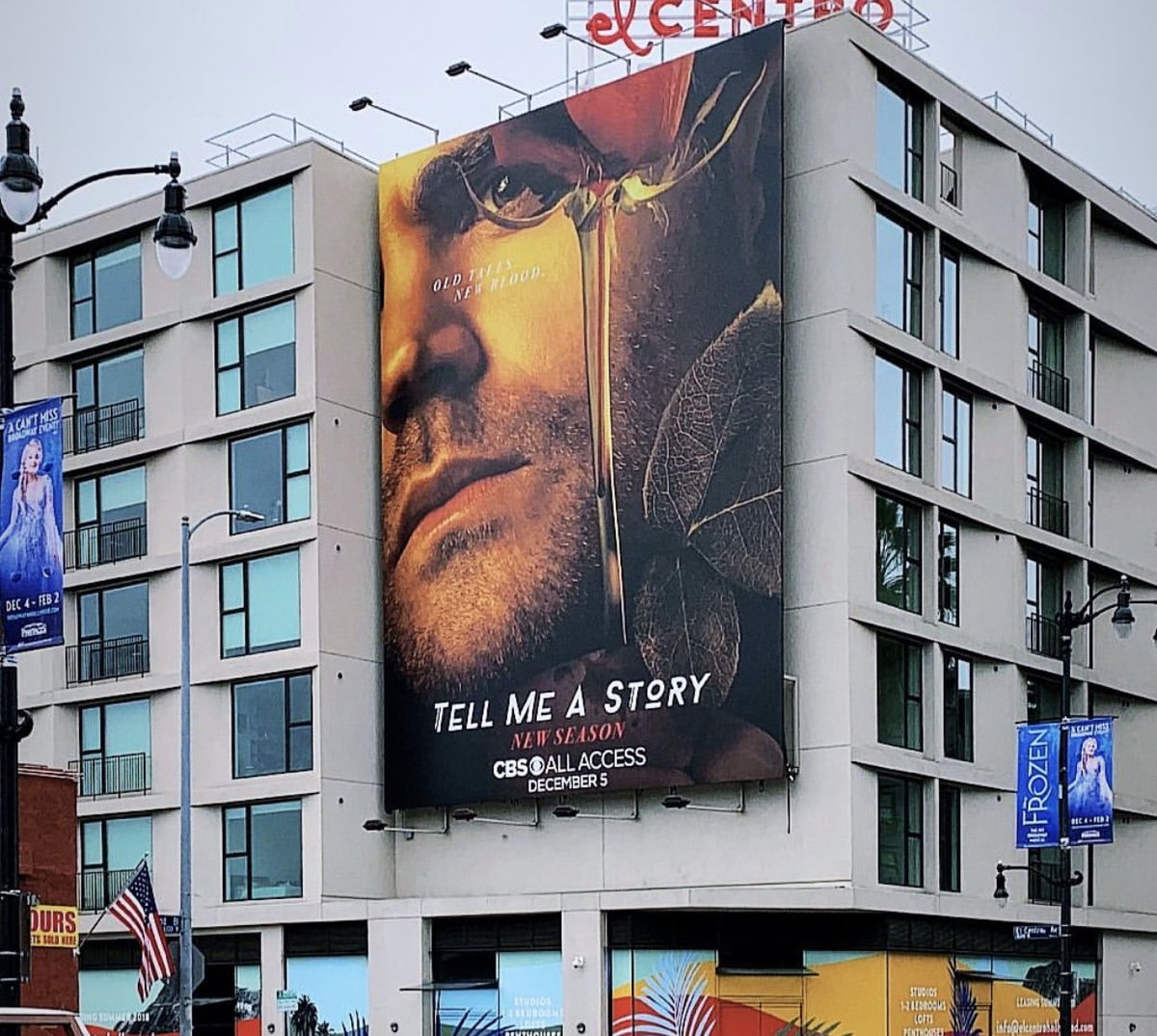Tomorrow on ⁦@CBSAllAccess⁩ #TellMeAStory