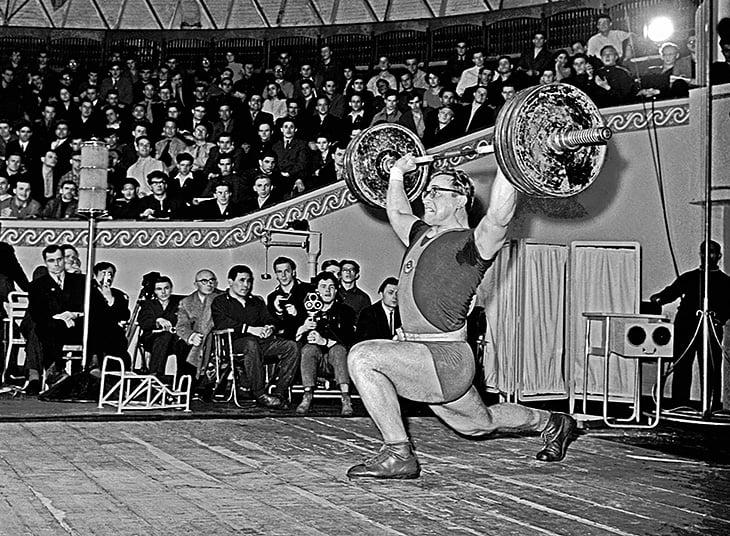 фото советских тяжелоатлетов