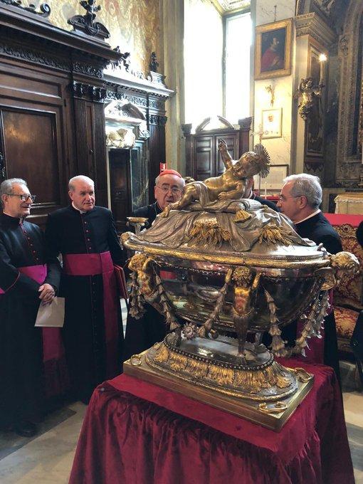 Après 1300 ans, un morceau du berceau de Jésus retourne pour la première fois en Terre sainte