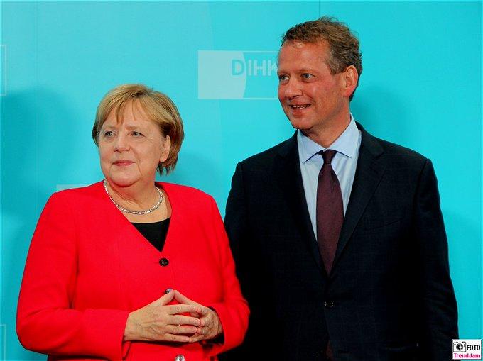 BK Merkel: Dass wir auch ein Handelsabkommen mit den V