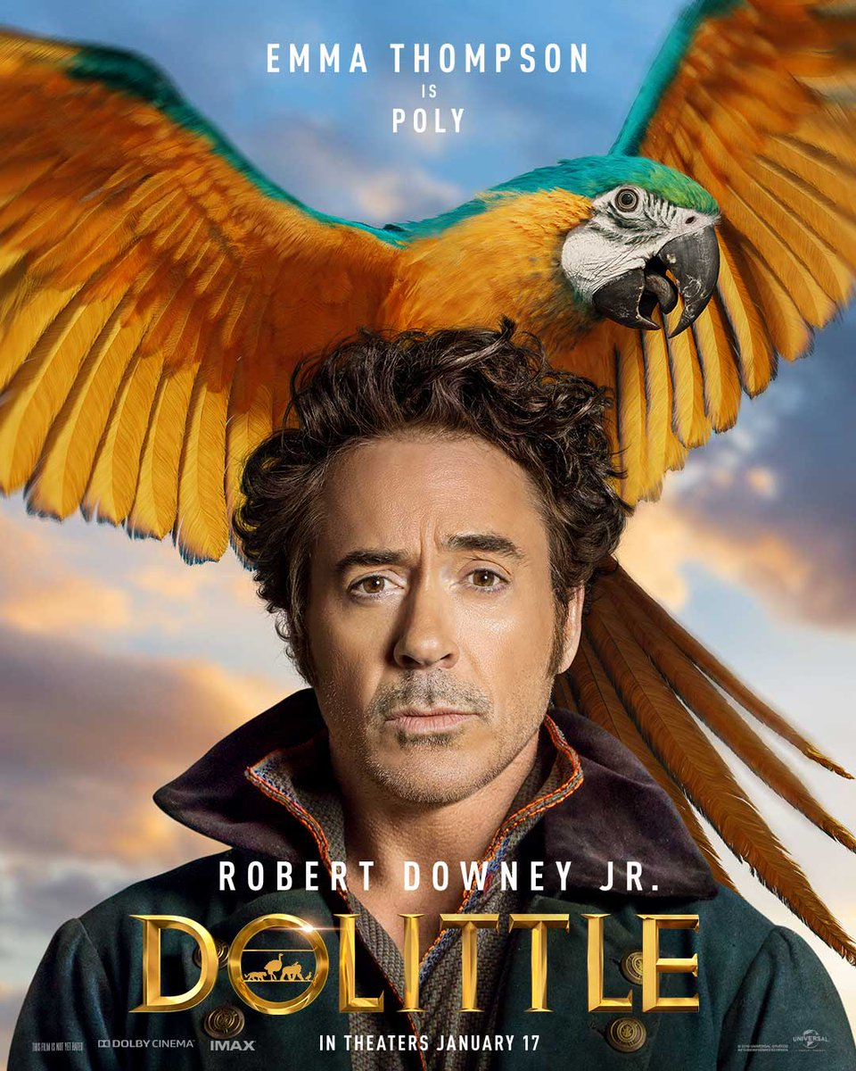 Dolittle Character Posters